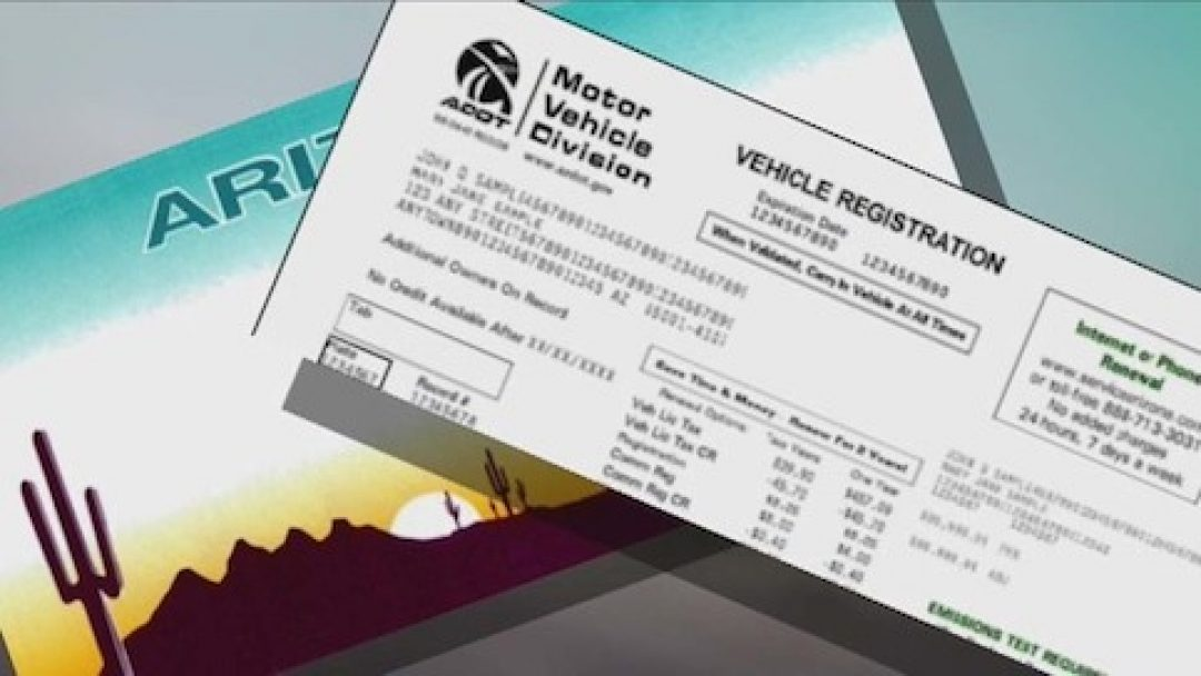 New Vehicle Registration Fee Being Challenged By Arizona Lawmaker All About News