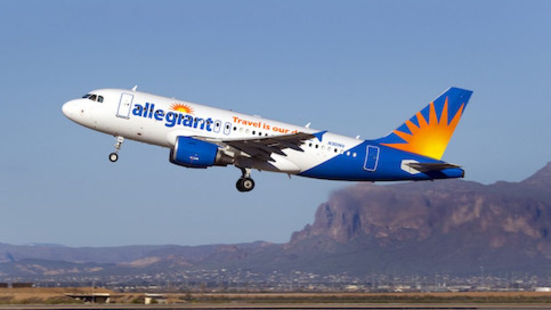 Allegiant Airlines Adds More Nonstop Routes To Mesa