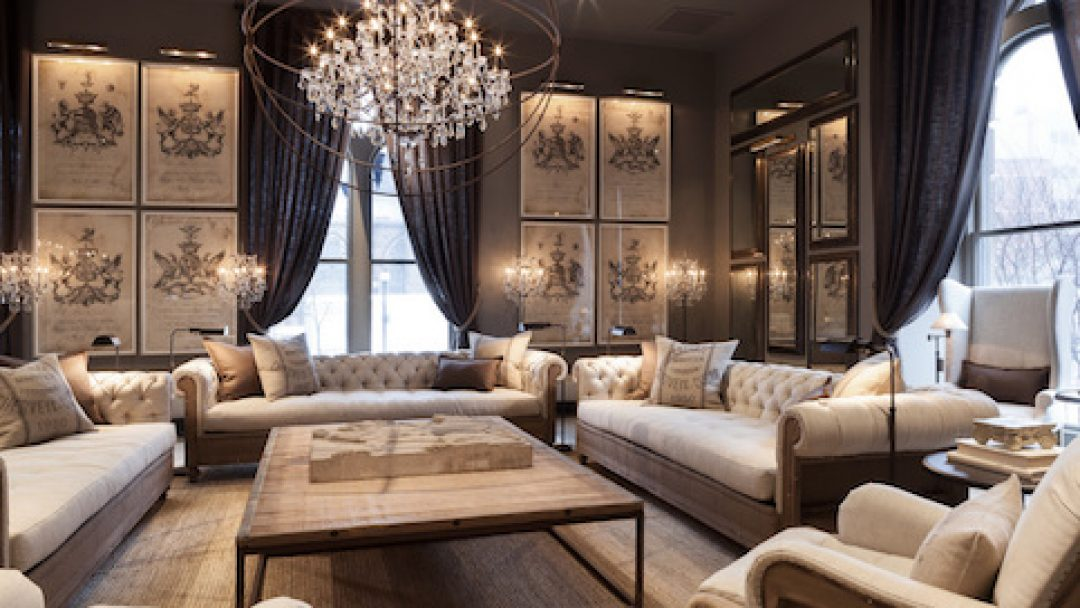 Restoration Hardware Outlet >> Restoration Hardware Opens First Outlet Store In Arizona All About