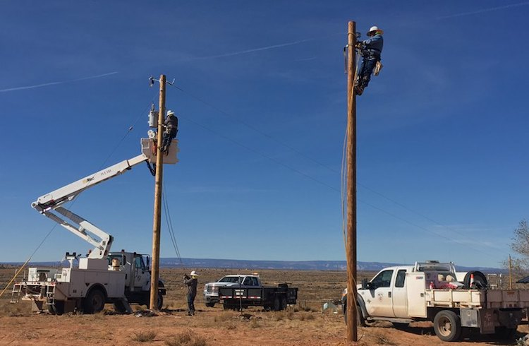 Navajo Nation Connecting More Homes to Electric Grids Thanks to CARES Act