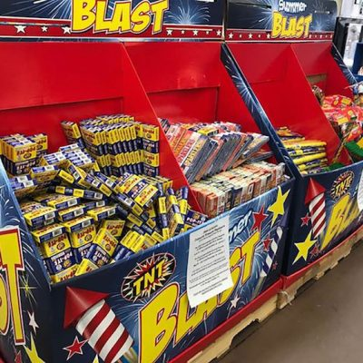 Fireworks Ban Lifted