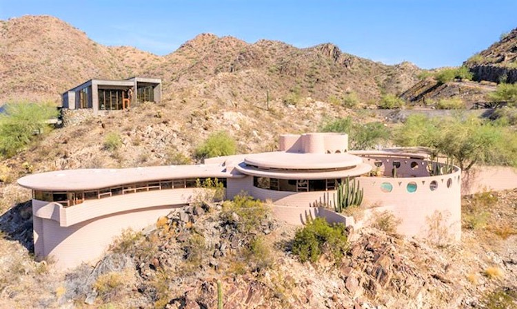 Phoenix Home Designed By Frank Lloyd Wright Up For Auction ...