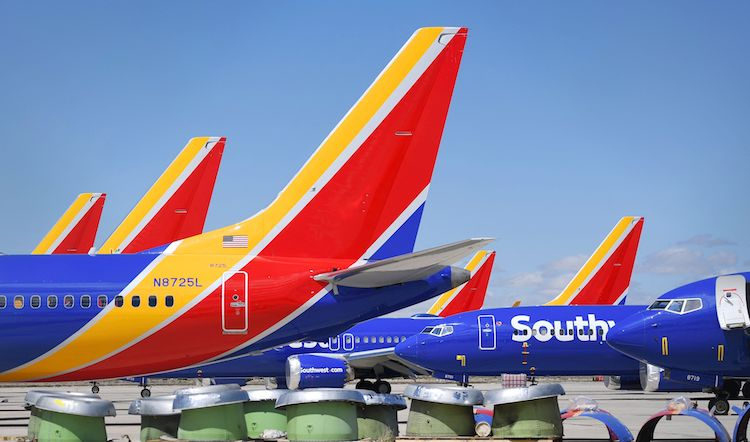 Southwest To Cancel 1,500 Daily Flights Starting March 27