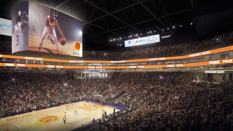 Phoenix Suns Arena Getting A New Name