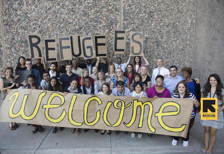 Phoenix Mayor And Leaders Welcoming Refugees