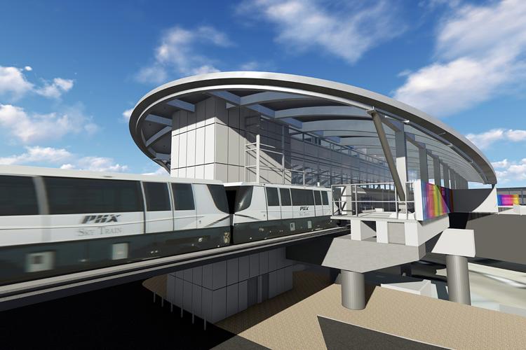 Sky Harbor's Sky Train Shutting Down Overnight for Testing