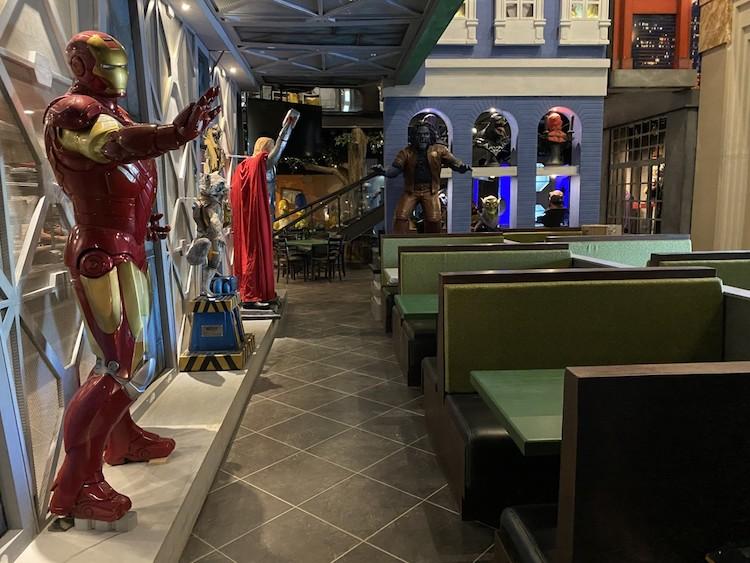ComicX: Superhero-Themed Restaurant Now Open