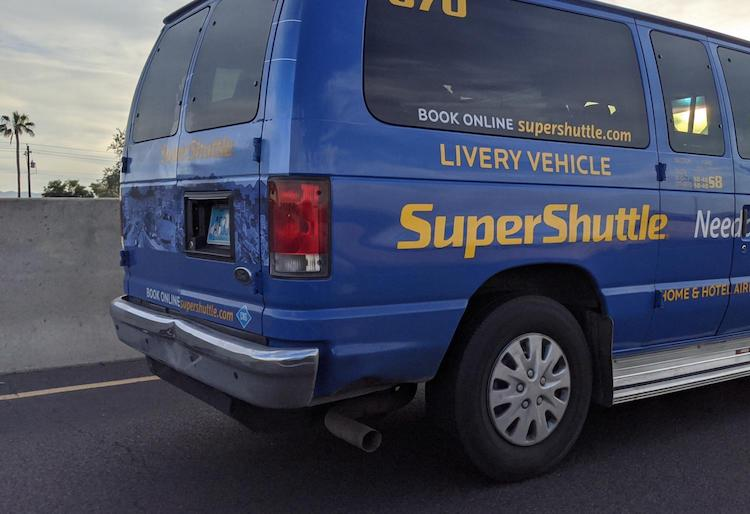 SuperShuttle Ending Service To Sky Harbor Airport