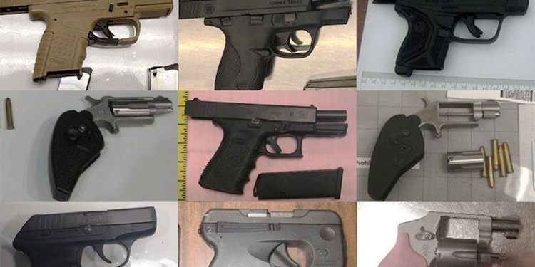 TSA Recovered More Guns At Airports In 2019 Than Ever Before