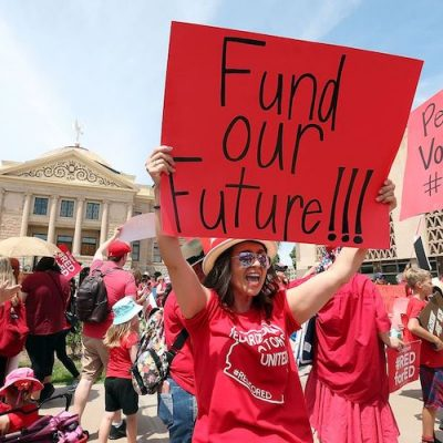 Arizona Groups Ask Voters To Raise Taxes On The Wealthy To Pay For Education