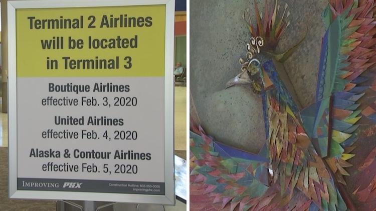 Sky Harbor Airport Bids Farewell To Terminal 2