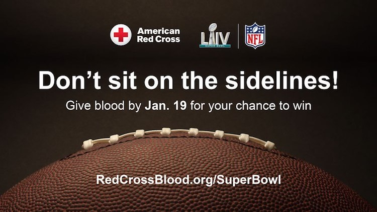 Red Cross Offers Blood Donors Chance To Win Super Bowl Tickets
