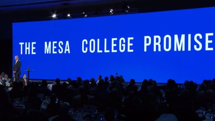 Mesa Mayor Announces Plan to Make Higher Education More Affordable