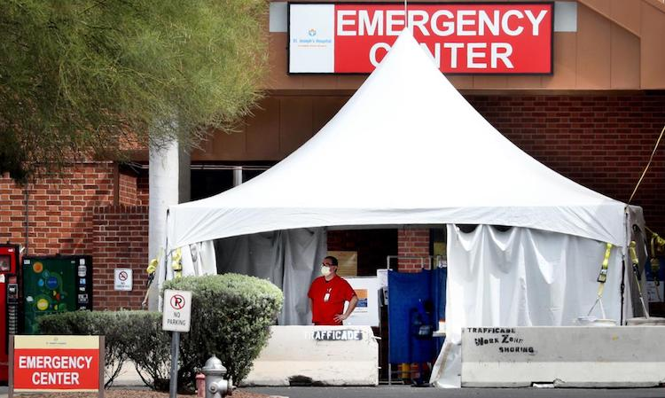 Arizona Health Official Expects State's COVID-19 Peak To Occur In April