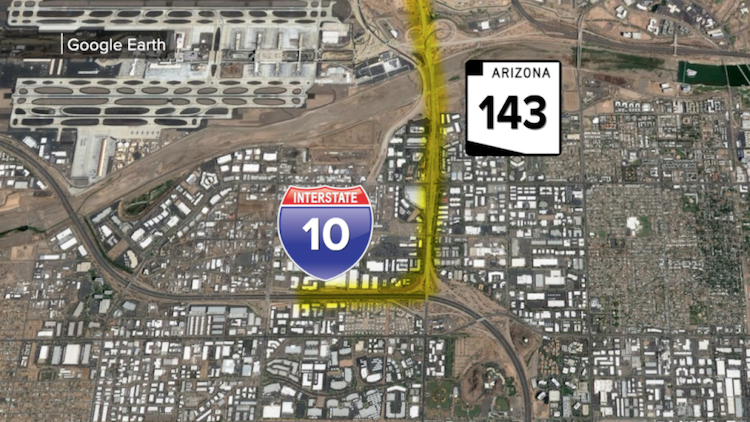 ADOT Has A Plan For SR-143 To I-10 Traffic Congestion
