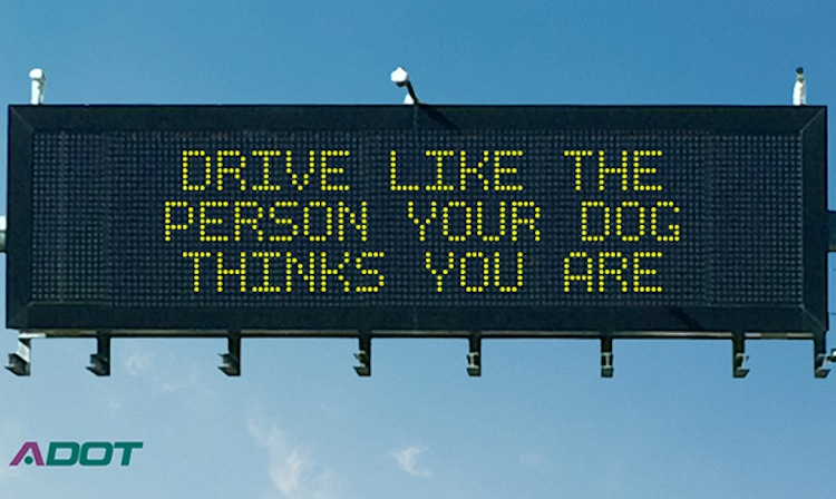 ADOT Accepting Original Message Entries for Safety Message Contest