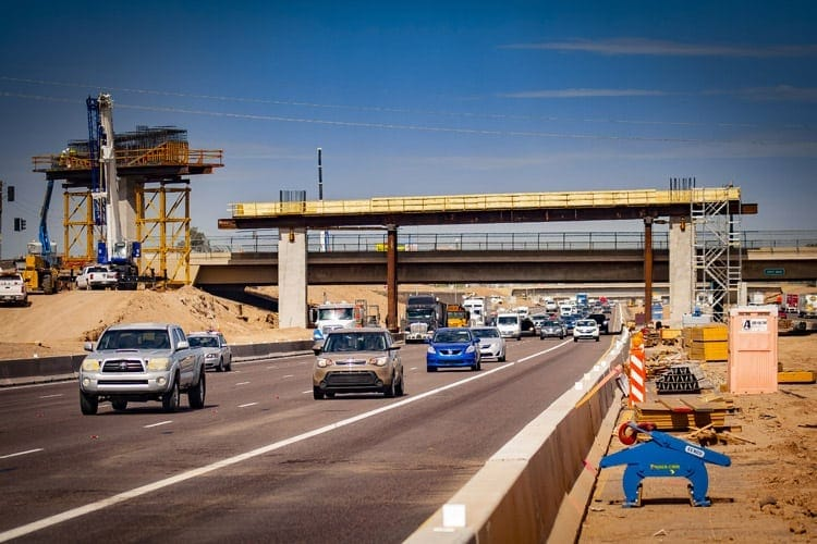 Freeway Construction Projects Set to Begin as Weather Gets Warmer