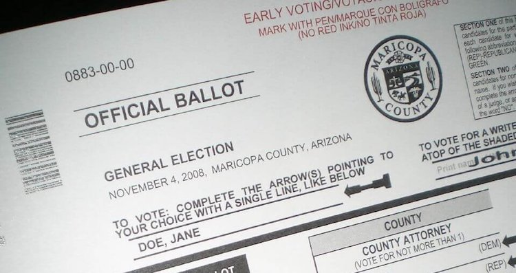 Arizona Secretary of State Pushes For All Mail Ballots