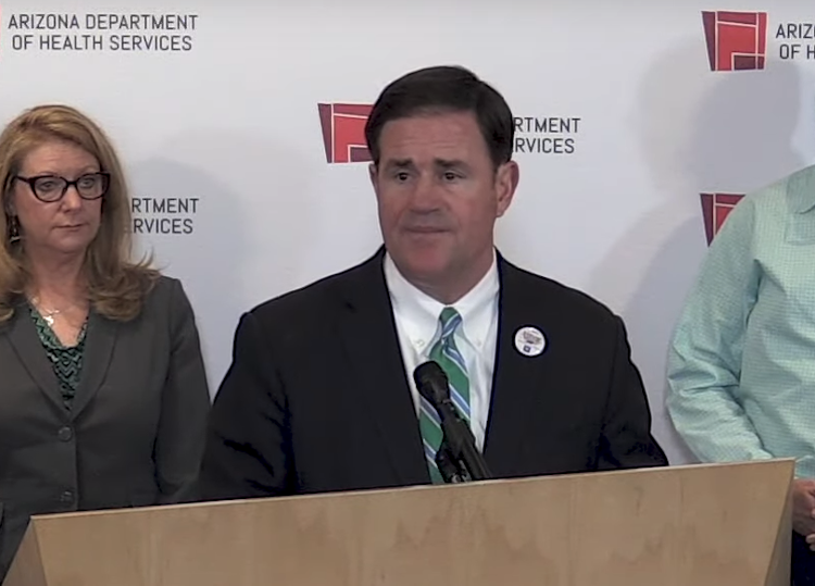 Governor Ducey Announces That Arizona To Receive Vital Supplies For Health Care Workers