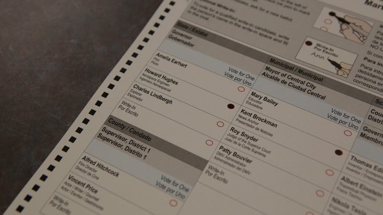 Maricopa County Spends $6 Million On New Election Voting Equipment