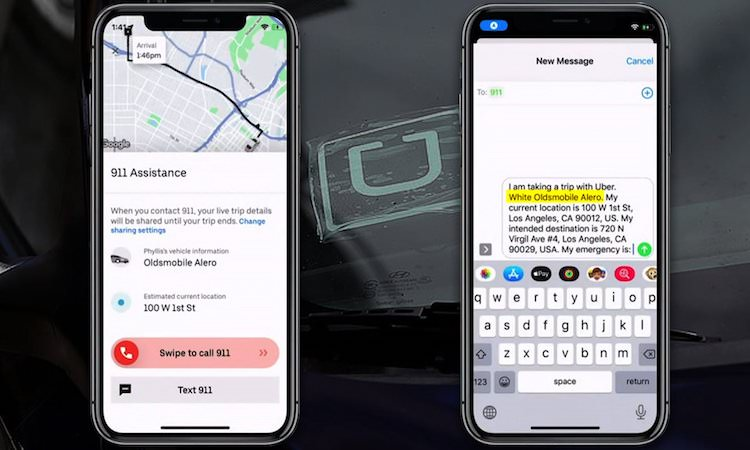 Uber's Text 911 Launches In Phoenix