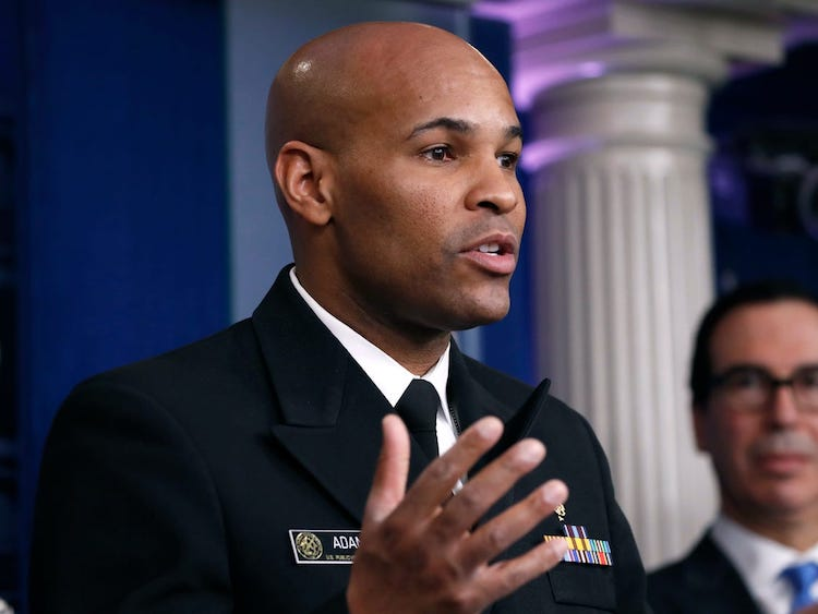 U.S. Surgeon General Warns This Week Will Be Worst Yet For COVID-19