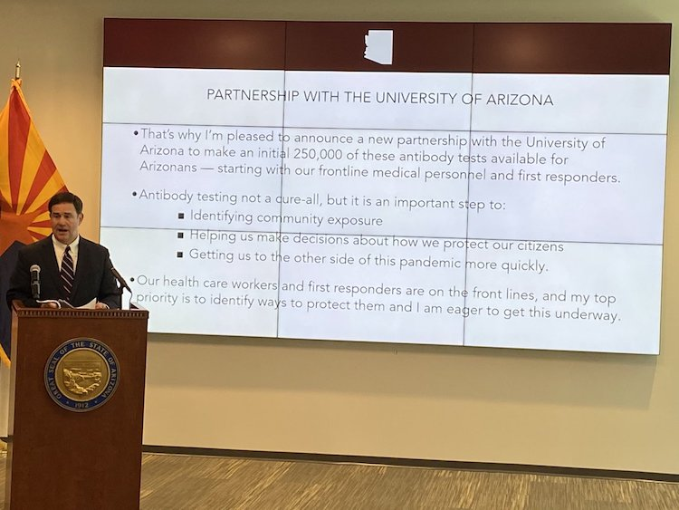 UArizona Partners With State To Provide COVID-19 Antibody Tests
