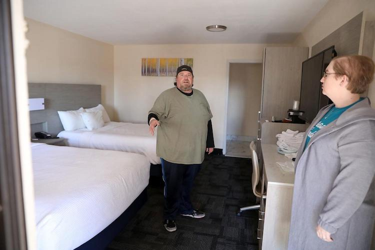 Shelter Services Organizes Hotel Rooms For Homeless Recovering From COVID-19