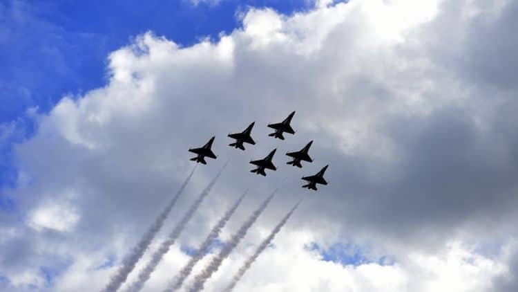 Luke Air Force Base Flyover To Honor Frontline COVID-19 Workers