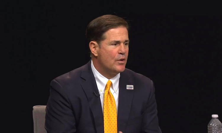 Governor Ducey Answers COVID-19 Questions In Virtual Town Hall