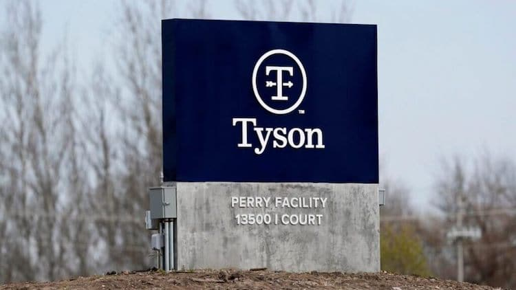 Tyson Foods Processing Plants Continue To Close