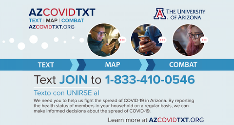 UArizona Launches Two-Way Texting System To Provide Critical COVID-19 Data