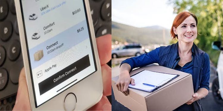 Uber Launches Same-Day, No-Contact Package Delivery in Phoenix