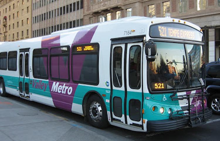 Valley Metro Reduces Bus Service