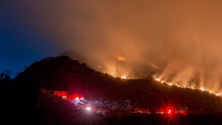 Cave Creek Regional Park Fire Increases To 1,500 Acres
