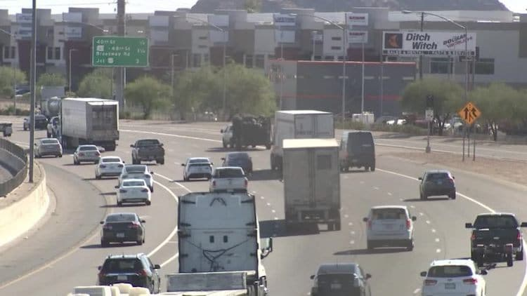As Freeways Get Busier, DPS Reminds Drivers To Travel Safely
