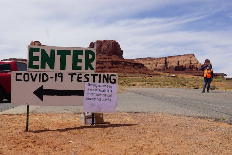 First Day Without Any New COVID-19 Cases In Navajo Nation