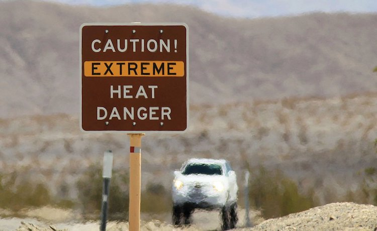 Reminder To Motorist To Prepare Yourself and Your Vehicle Before Driving In Extreme Heat