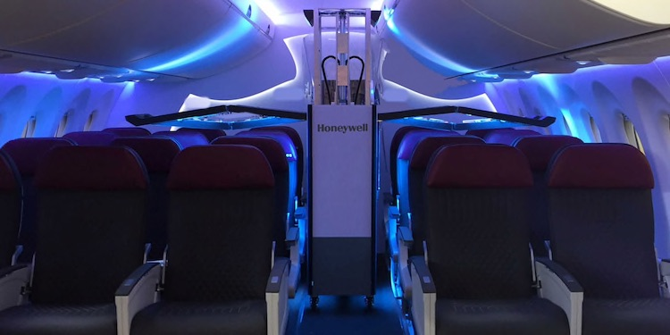 Honeywell To Introduce Fast, Affordable Ultraviolet Cleaning System For Airplane Cabins