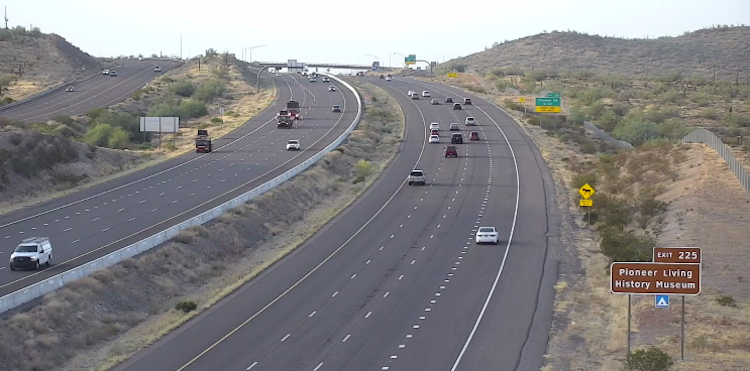 Intermittent Closures Along Interstate 17
