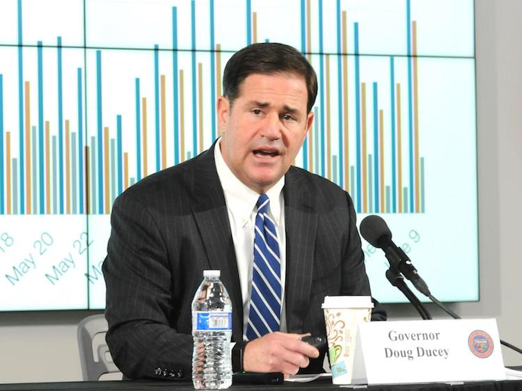 Governor Ducey Takes Further Action To Reverse COVID-19 Spread In Arizona