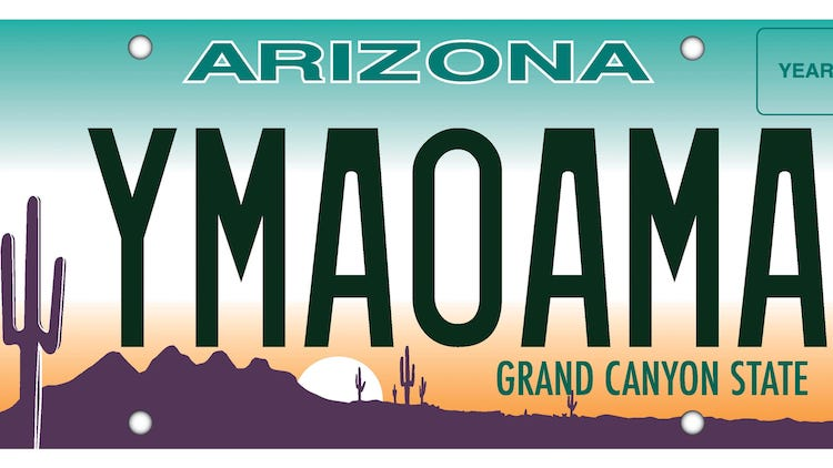 Arizona Makes Change To License Plates