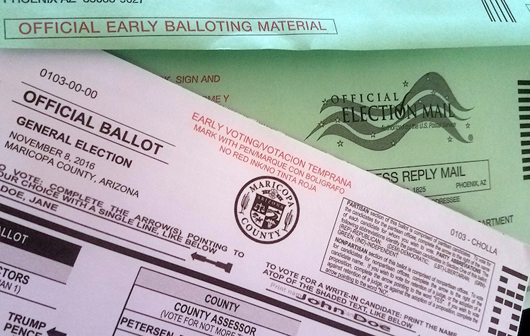 Arizona Voters Who Don't Sign Their Ballots Can Fix Them Up To 5 days After Election