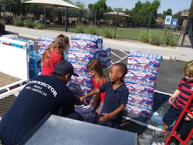 Mesa Hydration Donation Campaign Underway To Save Lives