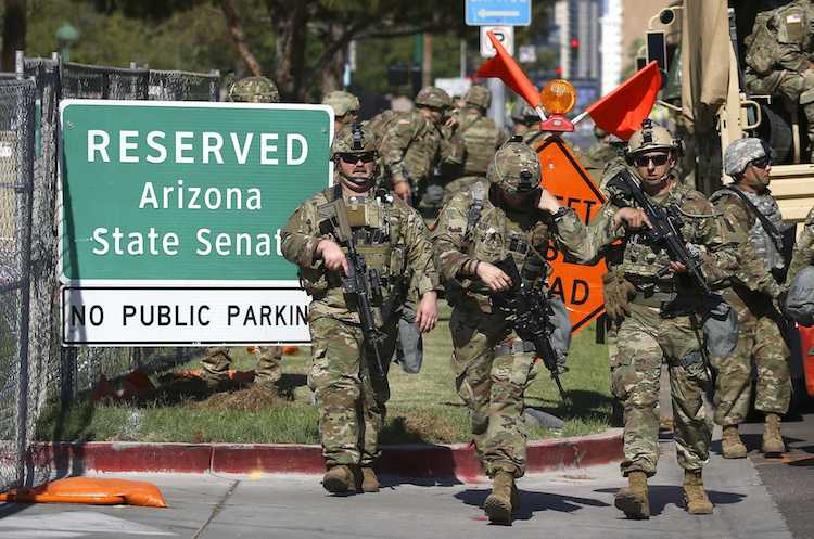 900 Arizona National Guard Soldiers Called Up For Looting/Rioting Duty