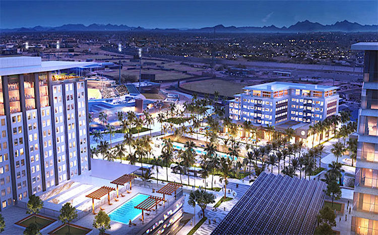 Peoria, American Life Inc. Negotiating Development of Sports Complex