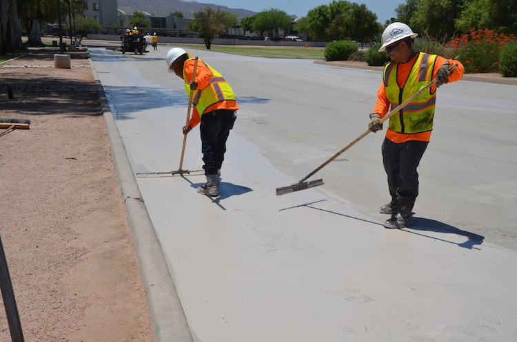 Select Phoenix Streets to Receive Cool Pavement Treatment to Reduce Temperatures