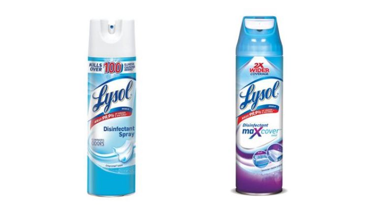 EPA Says Lysol Can Kill COVID-19 on Surfaces in 2 Minutes