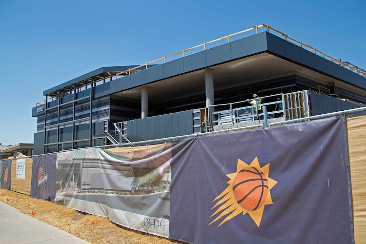 Phoenix Suns New Practice Facility To Be Completed In September