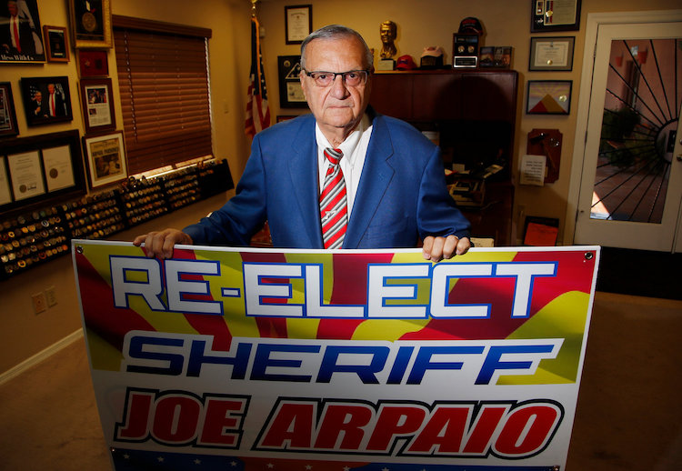 Maricopa County Sheriff Republican Race Too Close to Call